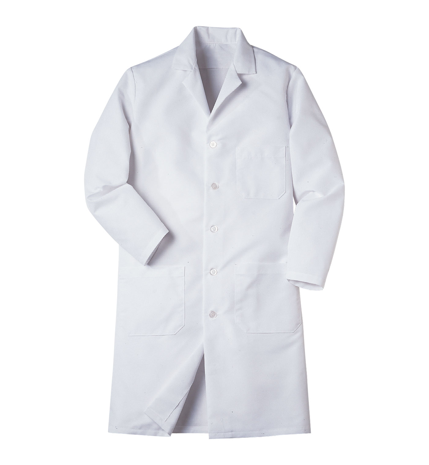 Aramark Mens Button-Front Lab Coat | Aramark Uniform Services