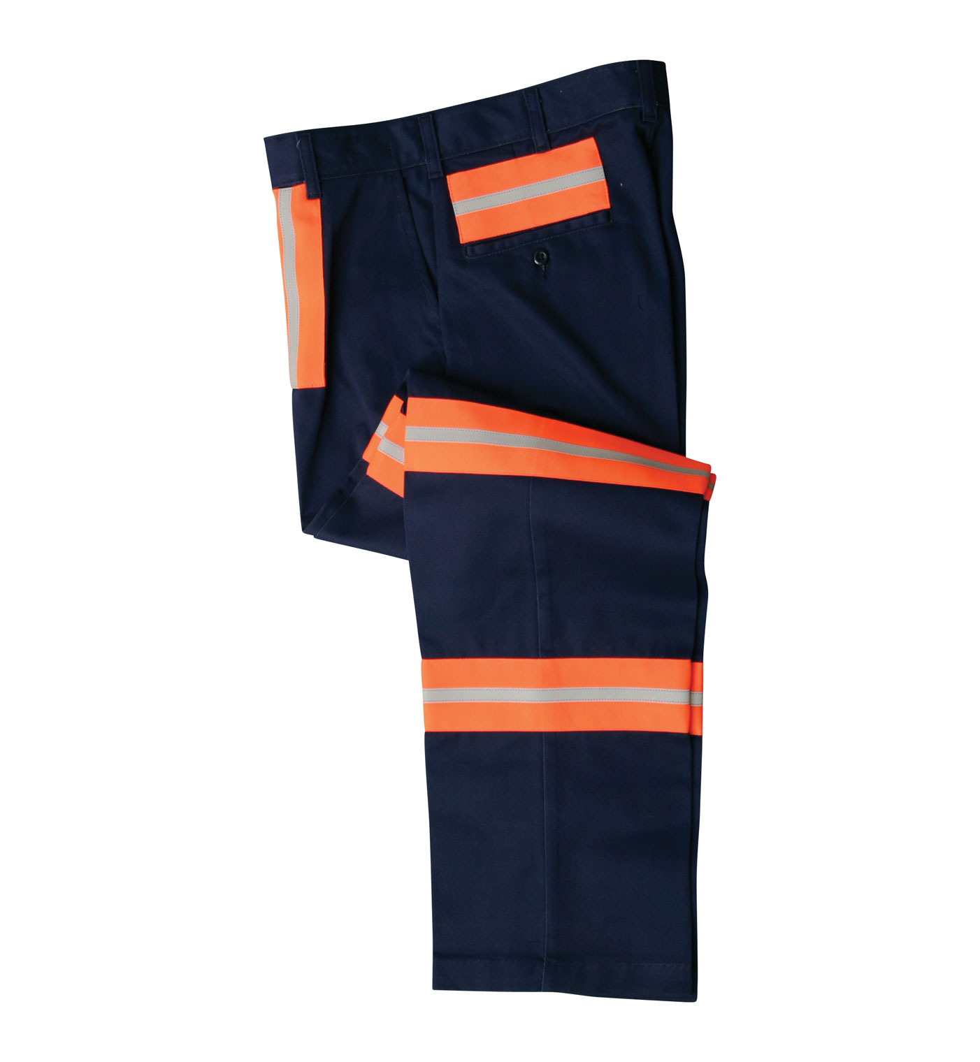 Enhanced Visibility Poly Cotton Pants Aramark Uniform