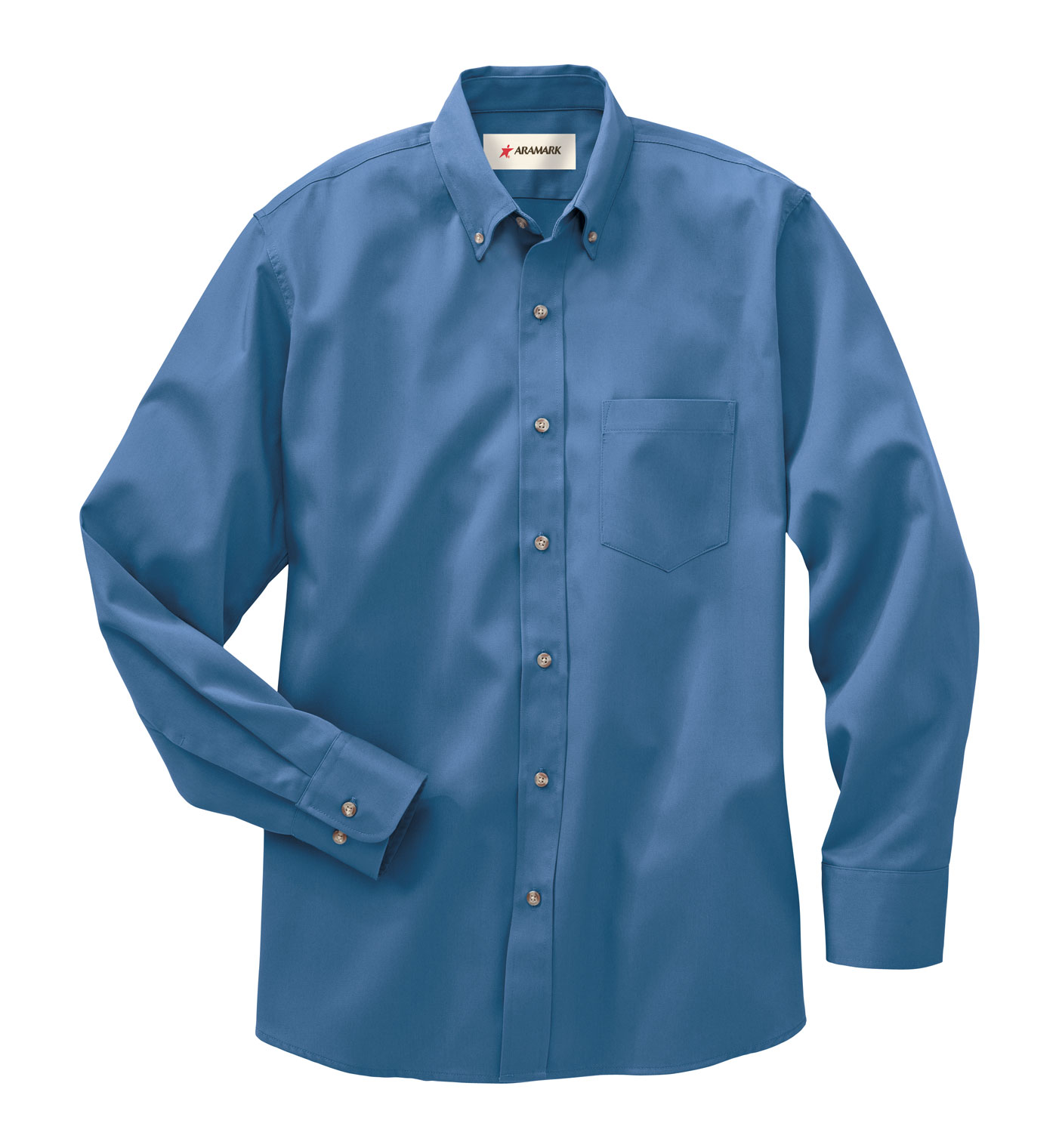 Mens Blue Work Shirts